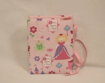 Once Upon a Time Girls Padded Fabric Photo Album