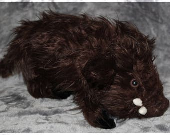 Wild Boar Plushie