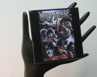 KISS Limited Edition Collector Card Drink Coaster