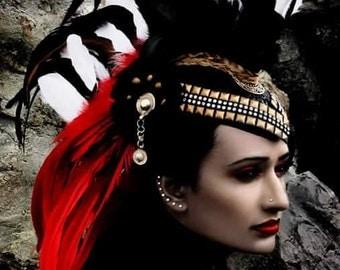 Willow in Warrior Headdress