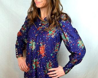 Super Cute Plain Jane 70s Summer Super Short Dress
