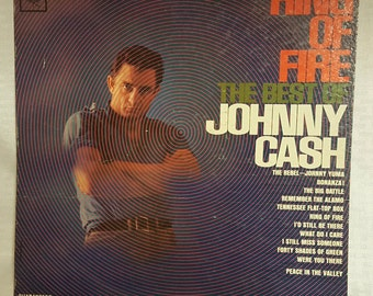 Johnny Cash - Ring of Fire - The Best Of - Vintage Record