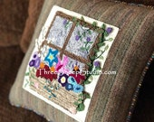 Punch Needle Pattern - The Windowbox - #PN544 - Needlepunch Embroidery