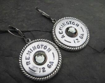 Shotgun Shell Earrings - Bullet Earrings - Dangle Earrings G2