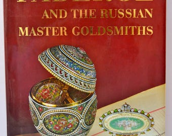 FABERGE And The Russian Master Goldsmiths Edited by Gerard Hill Coffee Table Book