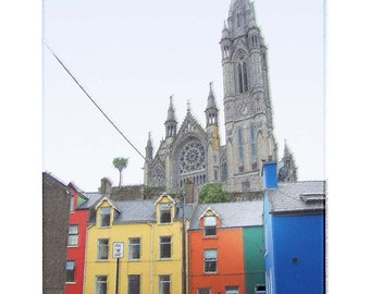 St. Coleman's Cathedral Cobh, Ireland - Limited Edition Print -   Irish Travel Decor