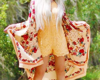 M Hippie Chic Spell n Gypsy Romper, Boho Romper, Bohemian Beach Romper Jumpsuit, Top Shop For Music Festival Clothing, True Rebel Clothing