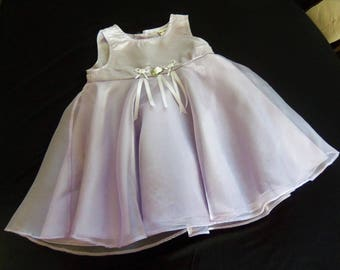 Lavender dress, Baby girl dress,Toddler dress,girls baby dress,  girls Toddler  dress, Babydress,size 18-24 mo. One of a kind
