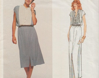 Vintage Designer Original Sewing Pattern By Belinda Bellville / Vogue 2130 / Dress / Size 10