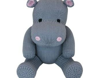 Hippo - Knit a Teddy