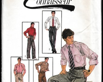 Simplicity 6668 Men's Pant's with or without Pleats Connoisseur™ Collection