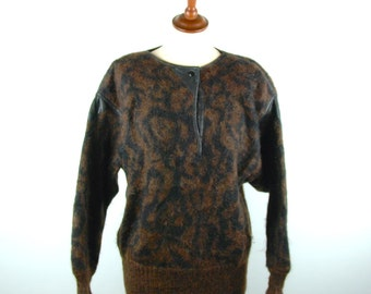 ESCADA by SRB, Mohair and Wool Blend Sweater