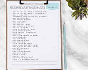 SPRING Cleaning Kit - 10 documents - INSTANT Download