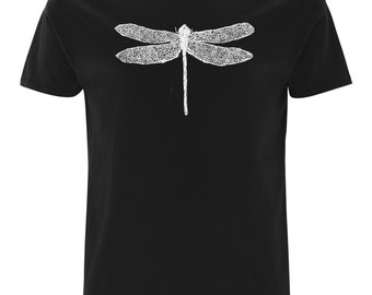 T-Shirt dragon-fly - organic & fair wear / different colors available