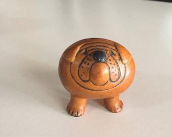 Lisa Larson Bulldog/ Kennel Series/ Gustavsberg Sweden/Mid Century Scandinavian Art Pottery/Lisa Larsson/By Gatormom13