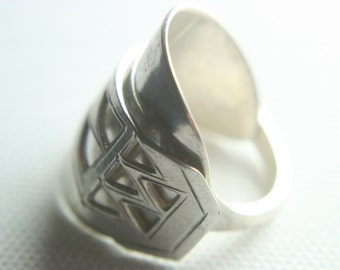 Spoon Ring - limited - Solid silver Dutch spoon ring