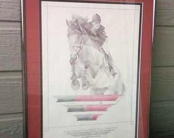 High Prairie Farms Colorado Grand Prix signed print 1994