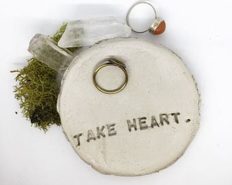 Take Heart Ring Dish