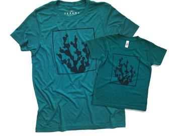 Dad Daughter Shirts. Mom Daughter Shirts. Mom Son Shirts. Texas Shirt. Cactus Shirt.