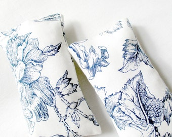 Scented Sachets, Room Freshener, Blue And White, Floral Sachet, Aromatherapy Bag, Sachet Drawer, Sleep Sachet, Herbal Bag, Under 25, Gift
