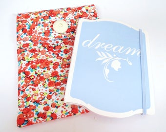 Notebook and Pouch, notebook pouch, notebook, stationary