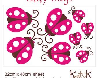 Lady Bugs - Wall Art