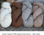 Bulky Weight A to Z Alpaca Yarn
