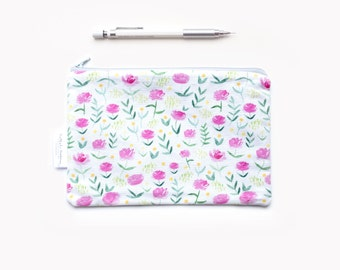 floral clutch, floral bridesmaid clutch, bridesmaid pouch, floral pouch, floral clutch, romantic clutch, romantic bridesmaid, wedding