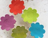 Flower Mural - Set of 5