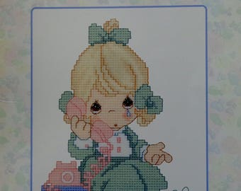 Gloria & Pat | Precious Moments | TELL It To JESUS | PM 40 | Counted Cross Stitch Pattern | Chart Booklet