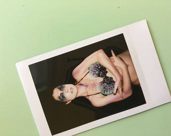 Galaxy Mermaid Mini Instax Polaroid Print (2 of 5) - Traci Hines *ready to ship!