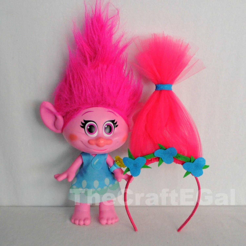 Princess Poppy Troll Headband Troll Party Princess Poppy