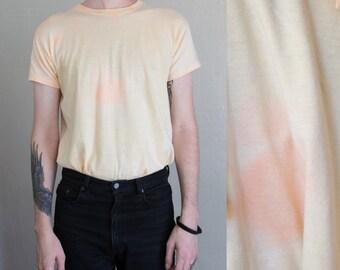 60s tie dye tshirt - L
