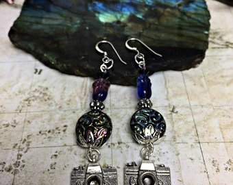 Camera Earrings - Photography Jewelry, Cameras, Picture Jewelry, Camera Lovers, Camera Gifts, Film, Photographers, Pictures, Touristy