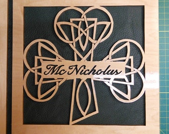 Personalized Shamrock Knot Album