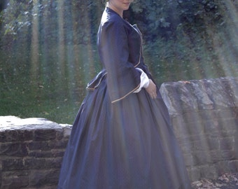 1860's/ Civil War Day Gown