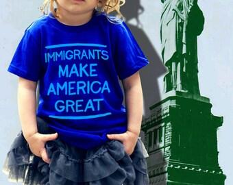 Immigrant Love Kids' T-Shirt