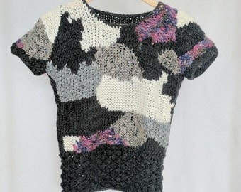 Vintage Stormy Weather Sweater