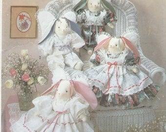 Bunny Angels Pattern Simplicity 7044 Uncut