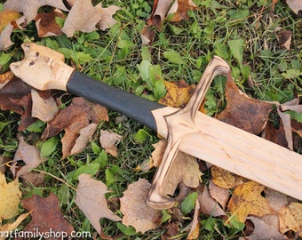 Longclaw-Inspired Sword of Jon Snow Game of Thrones GOT Wood Weapon Replica Cosplay