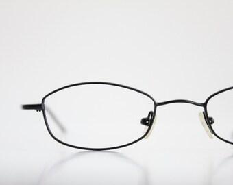 Vintage Black Wire Eyeglasses Sunglass Frames