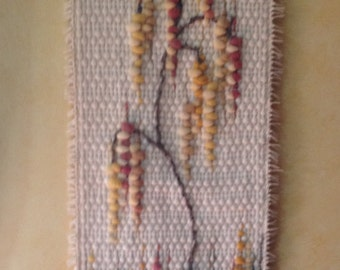 Boho Decor Wool Earth Tones Cool Woven Wall Hanging Tapestry