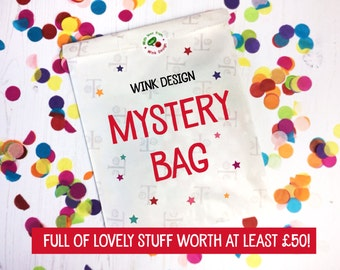 Mystery Bag - Lucky Dip - Mystery Box - goodie bag - sale - surprise bag - surprise box - Gifts - seconds - grab bag - Stock Clearance