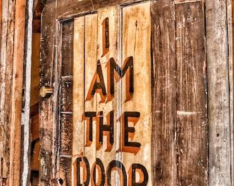 I AM The Door Photo Print