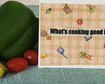 What's Cookin Greeting Card