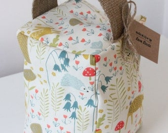 Woodland Door Stop scandi deer rabbit owl hedgehog squirrel nursery