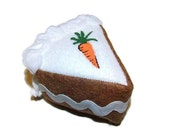 Cat Toy - Catnip Cake Toy - Easter Cake - Carrot Cake