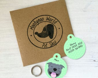 Staffordshire Bull Terrier Dog Tag