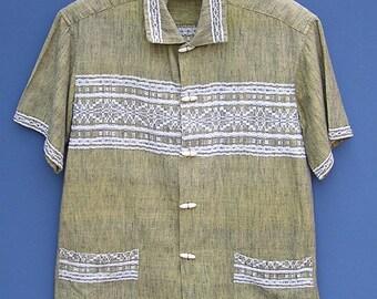Vintage Guatemala Woven Shirt