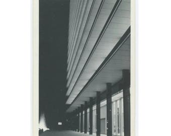 Vintage Snapshot Photo: Architectural Abstract (75577)
